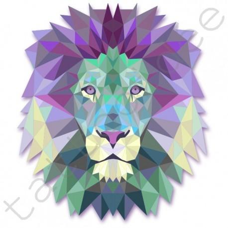 Lew z trójkątów