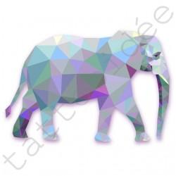 Słoń z trójkątów