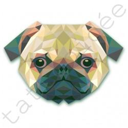 Pies z trójkątów