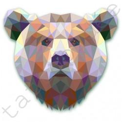 Niedźwiedź z trójkątów