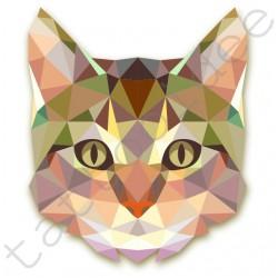 Kot z trójkątów