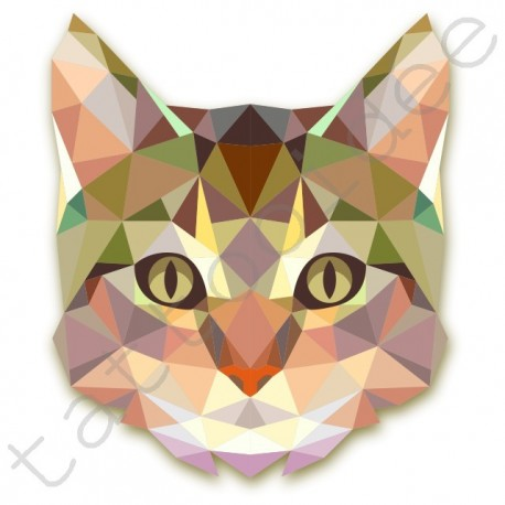 Kot Z Trójkątów Tattooidée Sklep Internetowy