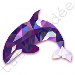 Delfin z trójkątów