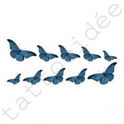 Na Paznokcie - Motyle Niebieskie