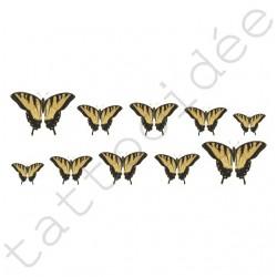 Na Paznokcie - Motyle Żółte