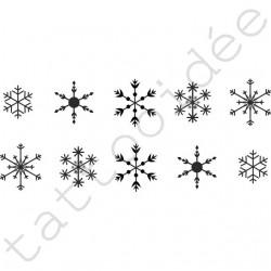 Na Paznokcie - Śnieżynki