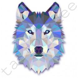 Wilk z trójkątów