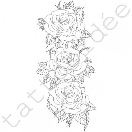 Rękaw z róż