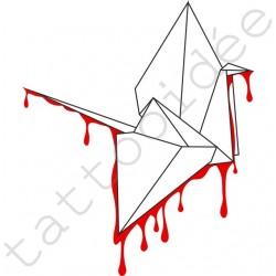 Łabędź Ociekający Origami