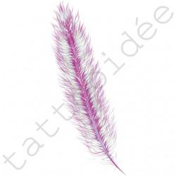 Piórko (typ A) Różowo-Błękitne
