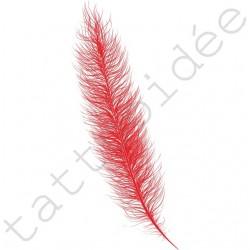 Piórko (typ A) Czerwone