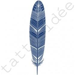 Piórko (typ B) niebieskie