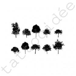 Na Paznokcie - Drzewa