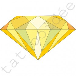 Diament Żółty