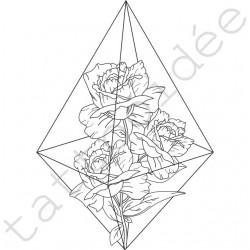 Róże w figurze